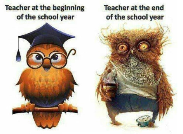 Teacher-at-the-beginning-and-end-of-the-school-year